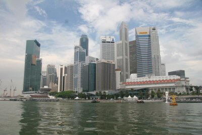 Singapore from water