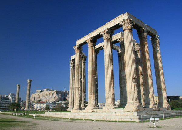 Athens - Temple of Olympian Zeus