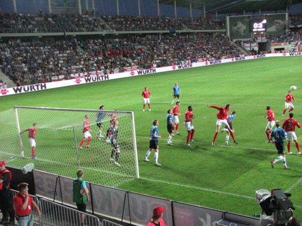 Estonia (0) v England (3) A Le Coq Stadium