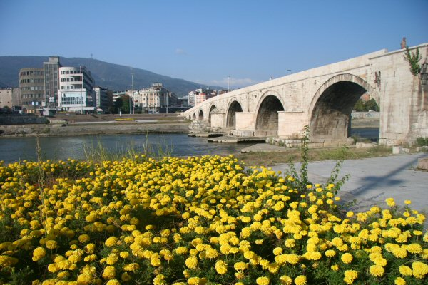 Old Stone Bridge, Skopje, Macedonia