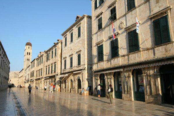 Dubrovnik, Placa Stradun