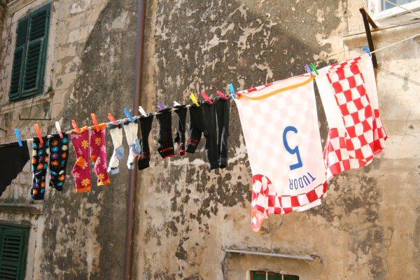 Dubrovnik, washing