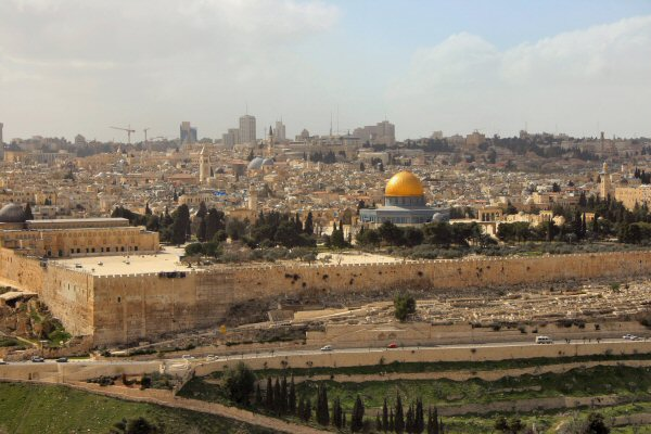 Jerusalem & Temple Mount from the Mount of Olives