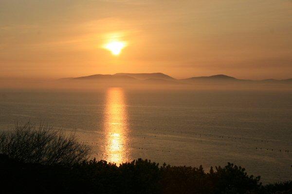 Sunset over Beara Peninsula from Sheep's Head