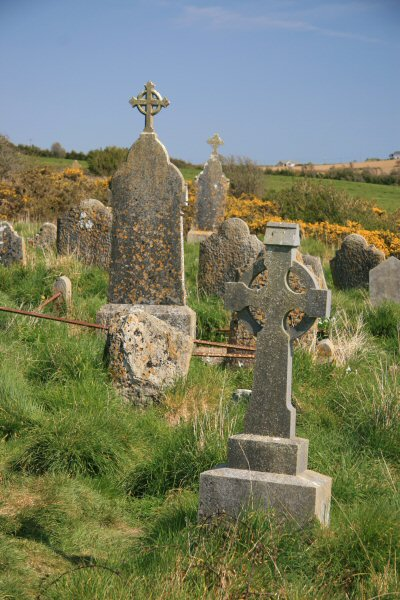 Grave stones at Charles Fort