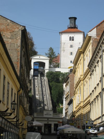 Zagreb funicular, Croatia