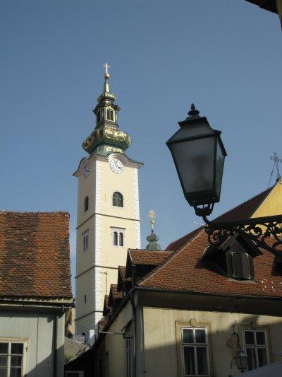 Zagrab, old town, Croatia