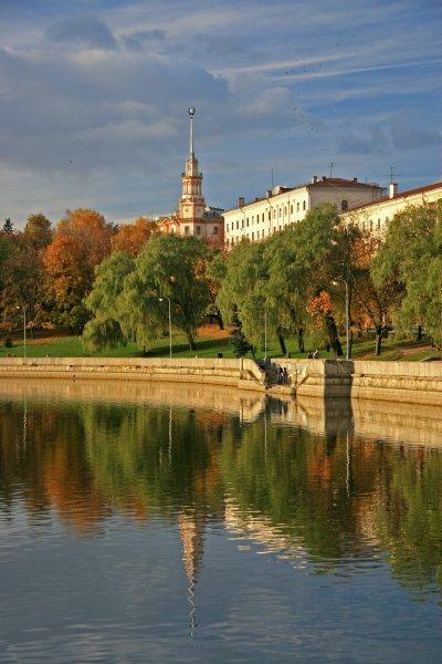 Svislach River, Minsk
