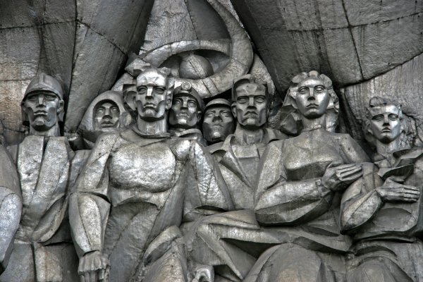 Solidarity Sculpture, Minsk