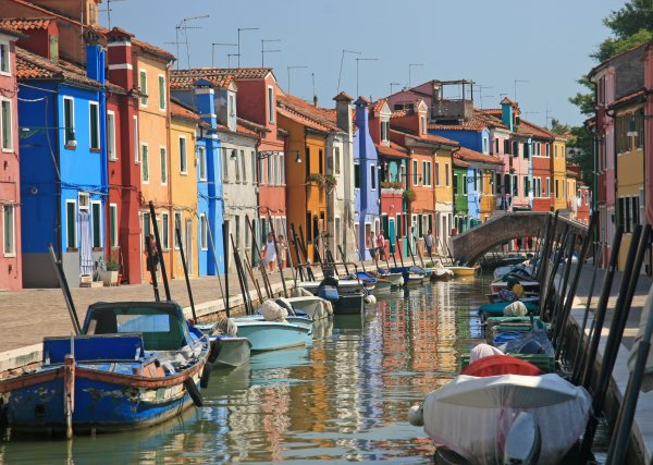 Burano, Venice lagoon