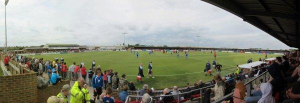 Match 2  Eastbourne Borough (3) v Brighton (2)