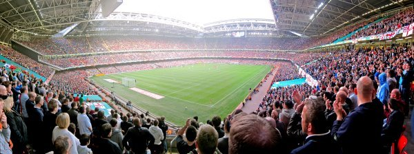Millennium Stadium, Cardiff, Wales (0) v Englnad (2)