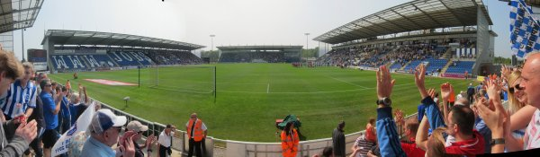 Match 56 Colchester (1) v Brighton (1)