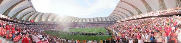 The Nelson Mandela Bay stadium, Port Elizabeth, South Africa - Slovenia (0) v England (1)