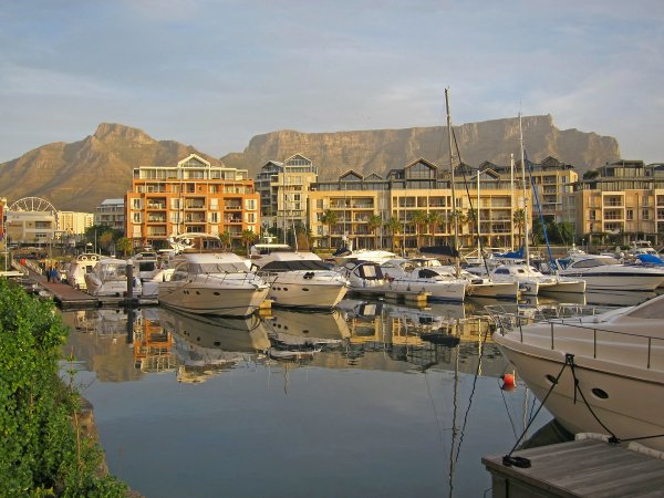 Cape Town, Table Mountain from the Waterfront
