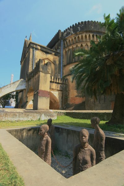 Cathedral, site of old slave market, Stone Town, Zanzibar