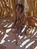 Damara Tribe Teenage Girl