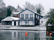 Twickenham Rowing Club in Winter