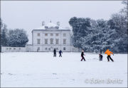 Marble Hill House in Winter