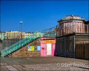 Old pier entrance