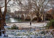 Richmond Bridge in Winter