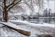 Richmond Bridge in Winter 2