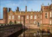 Flooding at Hampton Court Palace