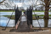 Old Deer Park Bridge - floods 2