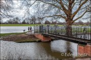 Old Deer Park Bridge - floods