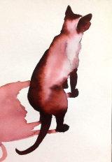 Inky Cat 10 - Print