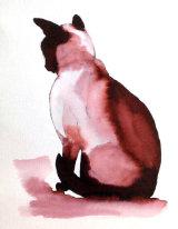 Inky Cat 4 - Print