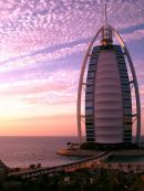 Burj Al Arab at Sunset
