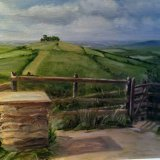 View of Kelston Roundhill from Prospect Stile, Bath - SOLD