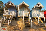 Beach Huts Well Next The Sea