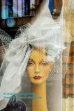 Elegant French Ladies Hat Store Window