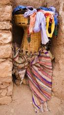 Ait Benhaddou, Moroccan Scarves
