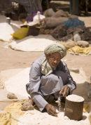 Salt Seller, Market Scene, Morocco