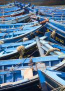 Essaouira Blue Boats, Bow to Bow