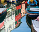 Burano House Reflections