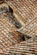 Siena Roof Tiles, Tuscany
