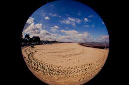 Fisheye Fun at Ryde Beach
