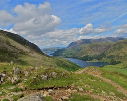 Buttermere from Haystacks, Lake District