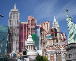 New York New York in Las Vegas 0901