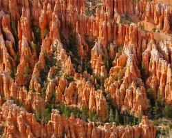 Hoodoos, Bryce Canyon 1048