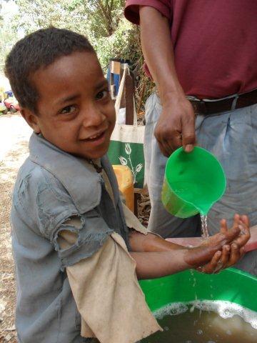 handwashing at snacktime
