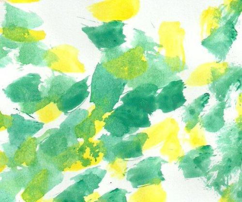 watercolour painting by Infants 2 pupil