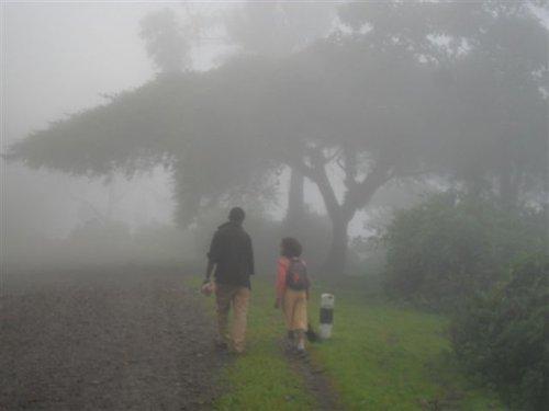 a stretch of level road called Awra Godana (8.30 am)