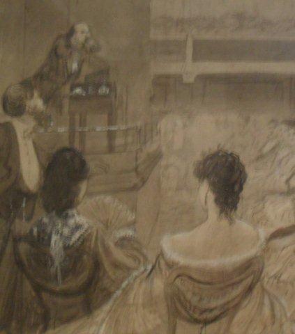 Dickens' last public reading