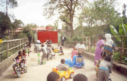 Empress Mentewab School playtime