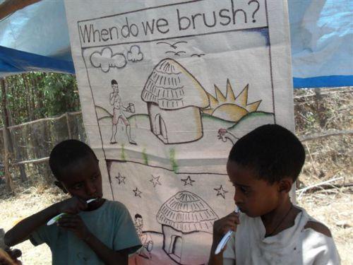 toothbrushing training
